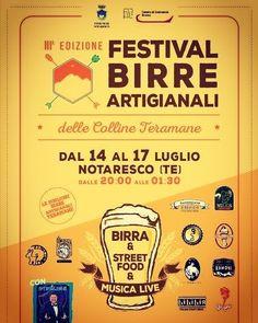 FESTIVAL BIRRE ARTIGIANALI delle Colline Teramane - Notaresco | Eventi Teramo⠀ #eventiteramo #eventabruzzo#besties #bestoftheday #chill…