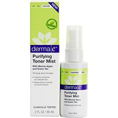 derma e Purifying Toner Mist for pHBalanced Skin 2 oz * This is an Amazon Affiliate link. Details can be found by clicking on the image.