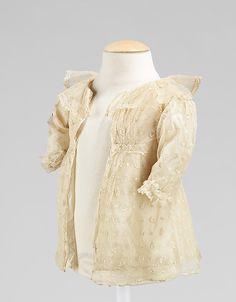 Jacket  Date: ca. 1840 Culture: American Medium: silk