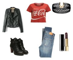 """""""Going Hard Rock Cafe"""" by rosaregaler on Polyvore featuring Citizens of Humanity ve Vanessa Mooney"""