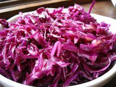Red Cabbage Salad...Salata de Varza Rosie