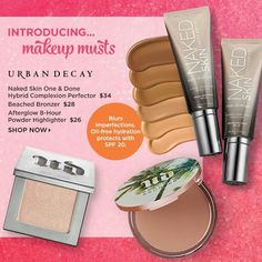 @urbandecaycosmetics summer collection is now available @ultabeauty online  #makeupnews #newmakeup #newrelease #commingsoon #upcommingmakeup #makeup #urbandecaysummercollection #urbandecaysummer2016 #bronzer #highlighter #oneanddone #bbloggers #bblogger #beautyblogger #instamakeup #instablogger #mua #motd #makeupaddict #instablogger #instamakeup #instablogger #shopping #byebyemoney #wakeupandmakeup by melodys_world