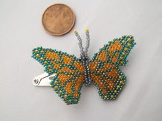 Butterfly hair clip. Summer accessory. Hair by MilenasBoutique