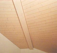 Täferdecke mit Sichtbalken Blinds, Curtains, Interior Design, Home Decor, Ceilings, Nest Design, Home Interior Design, Jalousies, Interior Designing