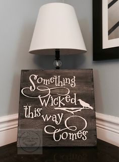 Chalkboard Quotes, Art Quotes, Wicked, Signs, Halloween, Shop Signs, Sign, Halloween Labels, Witch