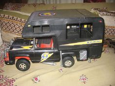 Big Jim's P.A.C.K Baja Beast Truck and Camper by Mattel, 1970's