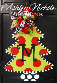Hey, I found this really awesome Etsy listing at https://www.etsy.com/listing/206924254/christmas-tree-door-hanger-christmas