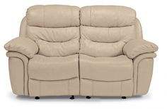 Flexsteel - Westport Leather Double Reclining Loveseat - 1285-60