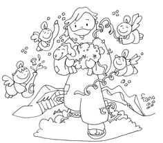 Happy Birthday Jesus Coloring Pages 08