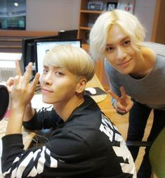 #SHINee Jonghyun and Taemin finally I got the right name with the right person