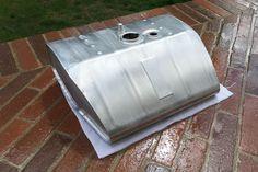 Fuel Tank, 80L, Porsche 356 GT / Carrera - Alloy / Aluminum Made In Italy #CustomMadeItaly