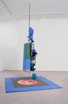 Contemporary Art Daily, Contemporary Sculpture, Geometric Sculpture, Soft Sculpture, Large Scale Art, English Artists, Recycled Art, Art Object, Installation Art