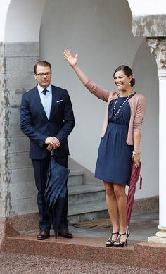 Princess Victoria - Swedish Royal Family Celebrates Crown Princess Victoria's 34th Birthday