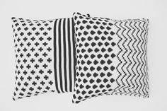 #black #white #cushion