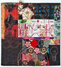 Stitched textiles by Louise Baldwin   Art Textiles Made in Britain