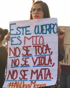 No se toca, no se viola, no se mata.  2 de febrero 2019, Ciudad de México. #lascallessonnuestras #niunamenos #niunamas #fotografaslatam…
