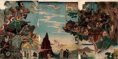 豊原国周  1860_三朝征伐