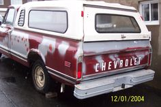 When I bought it  chevy c10 72