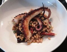 Charred octopus from Dell'Anima