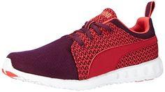 Puma Women's Carson Runner Knit Running Shoes Pink US 7.5 - http://all