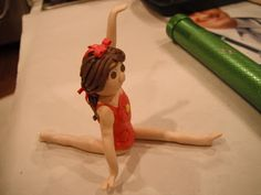 P-ART-Y: How to make a Gymnastic Figurine Cake Topper?