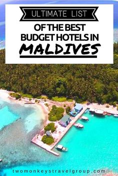 Ultimate List of The Best Budget Hotels in The Maldives. In this article, you… Visit Maldives, Maldives Travel, Maldives Trip, Places To Travel, Places To See, Travel Destinations, Budget Hotels, Budget Travel, Best Budget