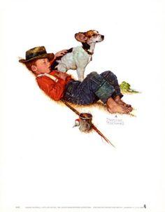 Adventures Between Adventures- another Norman Rockwell