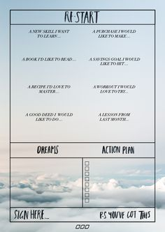 A Guide to Goal Setting - Move Nourish Believe Goal planner action sheet Believe, Self Development, Personal Development, Goal Setting Worksheet, Goals Worksheet, Goal Planning, Setting Goals, Goal Settings, Achieve Your Goals
