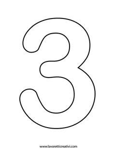 Numero 1 da colorare sagome numeri sagome dei numeri for Numero dei deputati e dei senatori