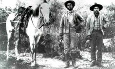 6 Photos of the Forgotten Black Cowboys Who Ruled the Wild West One in four Texan cowboys was black. How come nobody knows about them?