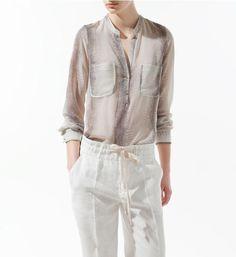 Frete grátis 2013( cbrl) europa mulheres sexy modaimprimir v pescoço manga comprida blusa chiffon #w096