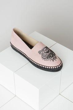 Kenzo Suede Tiger Espadrilles - Kenzo Shoes Women - Kenzo E-shop
