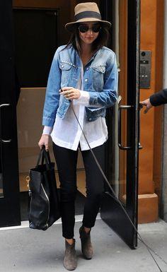 Miranda Kerr + Isabel Marant Dicker Boots