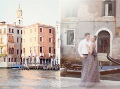 venice italy gondolas wedding photos