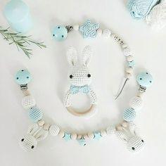 Baby Boys, Newborn Toys, Christmas Crochet Patterns, Baby Teethers, Crochet Animals, Kids And Parenting, Crochet Baby, Mint, Knitting