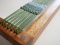 Learn the basics of weaving with the Weaving Loom Kit. Follow along with my instruction booklet and learn how to weave by making a coaster.    The loom