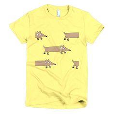 Doxie Pattern Women's t-shirt
