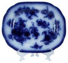 Gustavsberg Flow Blue Platter