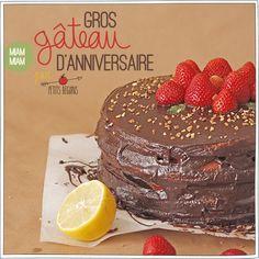 Réaliser un gros gâteau facile et trop trop bon, c'est possible et c'est chez Petits Béguins. La recette illustrée est par ici :)