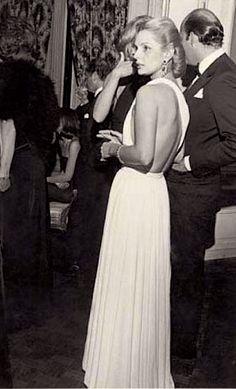 Carolina Herrera photographed by Bill Cunningham in 1979