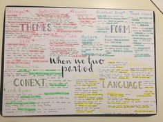 Mind Maps 697424692279385222 - My first mind map on poetry for my English gcse. This took me far too long to complete, oh well one down only 14 to go. Source by janaisagrubbs English Gcse Revision, Biology Revision, Revision Notes, Revision Tips, Study Notes, Gcse Revision Timetable, A Level Revision, A Level English Literature, English Study