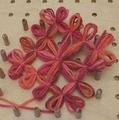 Tutorial piastrella al telaio di legno con centro a stella |Chiocciolina creativa - costruisci il mondo con le tue mani