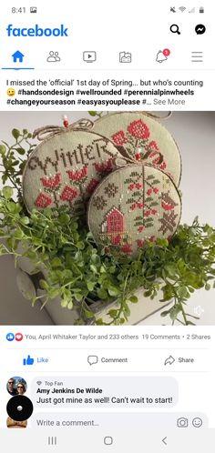 Cross Stitch Designs, Wicker Baskets, Needlework, Winter, Christmas, Sacks, Cross Stitch, Dots, Embroidery