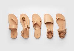 Alvaro Gonzalez calf leather sandals Summer 2014