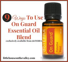 Did you know that the On Guard essential oil blend has over 50 uses? An extremely powerful immune-boosting agent, it can also be used to increase overall health, to deal with a wide range of infect...