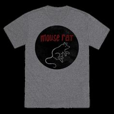 Rock this awesome Mouse Rat fan shirt to show some love for this awesome rock band. Perfect for lovers of Parks and lovers of recreation. And fake bands. | HUMAN