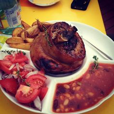 thatchillaxdude.com #thatchillaxdude  What I love about Latvia... pork knuckles galore!  #travel #instatravel #worldtravel #walkabout #wanderlust #travelfood #charcuterie #foodporn #instafood #cheatdayeveryday #porkknuckle   #namejs #riga #latvia #rigaoldtown