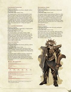 DnD Homebrew — The Tinker Prestige Class by Dungeons And Dragons Classes, Dungeons And Dragons Homebrew, High Fantasy, Fantasy Rpg, Warforged Dnd, Dnd Stats, Dnd Dragons, Dnd Classes, Dnd Races