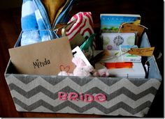 Bachelorette Party Gift Basket - Peanut Butter Fingers This is the cutest freaking idea!! Whether for a bachelorette party or some other event, I love this! i really which i'd thought of this...