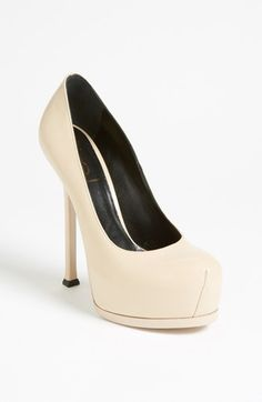 Saint Laurent 'Tribute Two' Pump available at #Nordstrom